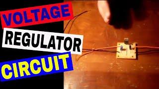 getlinkyoutube.com-How to make a DC 12 Volt to 5, 6, or 9 Volt Converter Using a LM7805 Voltage Regulator