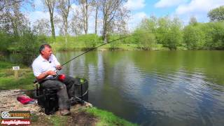 getlinkyoutube.com-Angling Times' new 11ft Avon Quiver rod on test