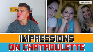 FUNNY IMPRESSIONS ON CHAT ROULETTE
