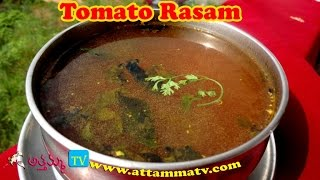 getlinkyoutube.com-Tomato Rasam (టమాట చారు): How to Make Tomato Rasam Recipe by Attamma TV