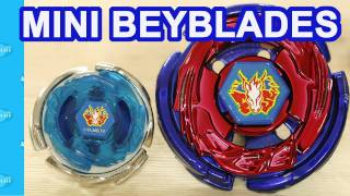 getlinkyoutube.com-Mini Micro Beyblades Lightning L-Drago and Storm Pegasus Beyblades Metal Fusion Review
