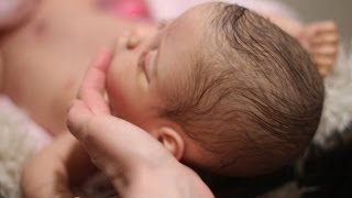 "getlinkyoutube.com-Reborn Box Opening Video...Baby Lily is Here!!! ""Jo"" Kit by Linda Murray"