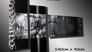 getlinkyoutube.com-Cuadros modernos, abstractos, decorativos de Oscar Sanchez