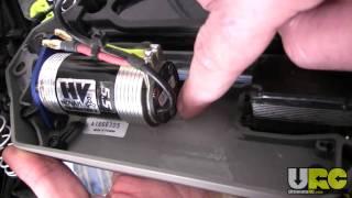 getlinkyoutube.com-Stampede 4x4, Novak HV / Ballistic 550 motor install mods