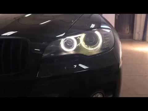 BMW X6. Ксенон. Глазки. Преображение