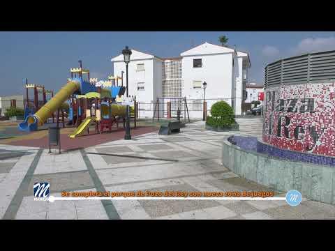 Se completa el parque de Pozo del Rey con nueva zona de juegos