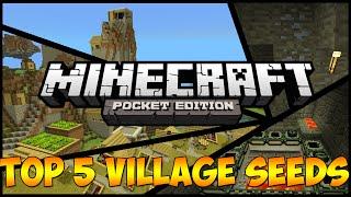 getlinkyoutube.com-Top 5 Village Seeds! - Minecraft: Pocket Edition