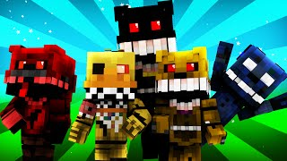 getlinkyoutube.com-FNAF World - Night 4 (Minecraft Roleplay)
