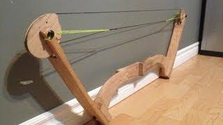 getlinkyoutube.com-Home Made Oak Compound Bow