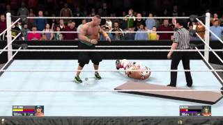 getlinkyoutube.com-WWE 2K16 John Cena vs Kalisto Extreme Rules PS4 [HD]
