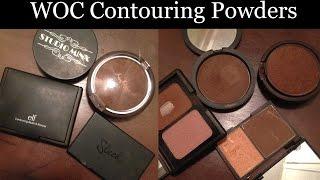 getlinkyoutube.com-Best Contour Powders for Dark/Brown Skin (WOC)