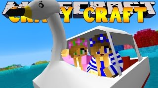 getlinkyoutube.com-Minecraft Crazy Craft 3.0 : SWAN BOATS FOR THE GIRLS #43