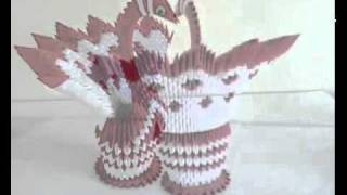 getlinkyoutube.com-Origami Collection 3D