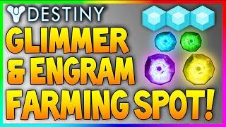 """getlinkyoutube.com-Destiny: """"INSANE ENGRAM & GLIMMER FARMING LOCATION"""" After Patch """"Legendary Engram Farming"""" #9"""
