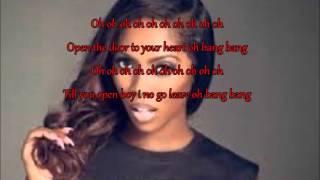 Bang Bang [Remix] By Tiwa Savage Ft. PSquare - Lyrics Video