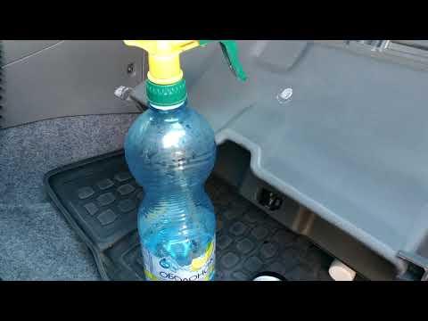 Замена салонного фильтра и промывка кондиционера Chery Tiggo