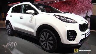 getlinkyoutube.com-2016 KIA Sportage 1.7 CRDi Diesel - Exterior, Interior Walkaround - 2015 Frankfurt Motor Show