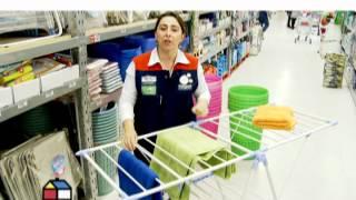 getlinkyoutube.com-¿Cómo colgar la ropa en espacios reducidos?