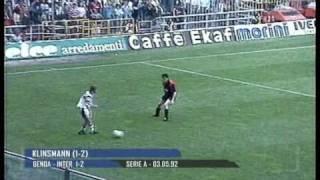 getlinkyoutube.com-Jürgen Klinsmann al INTER (1989-1992)