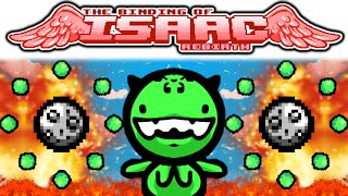 getlinkyoutube.com-The Binding of Isaac REBIRTH: IPECAC + QUAD SHOT + LOKI'S HORNS + ORBITING TEARS