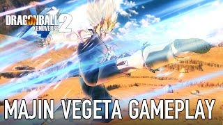 Dragon Ball Xenoverse 2 - Majin Vegeta Gameplay