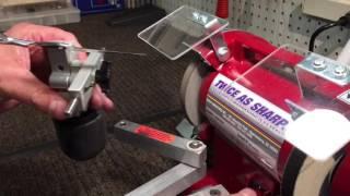 getlinkyoutube.com-Scissor Sharpening: Shear Repair