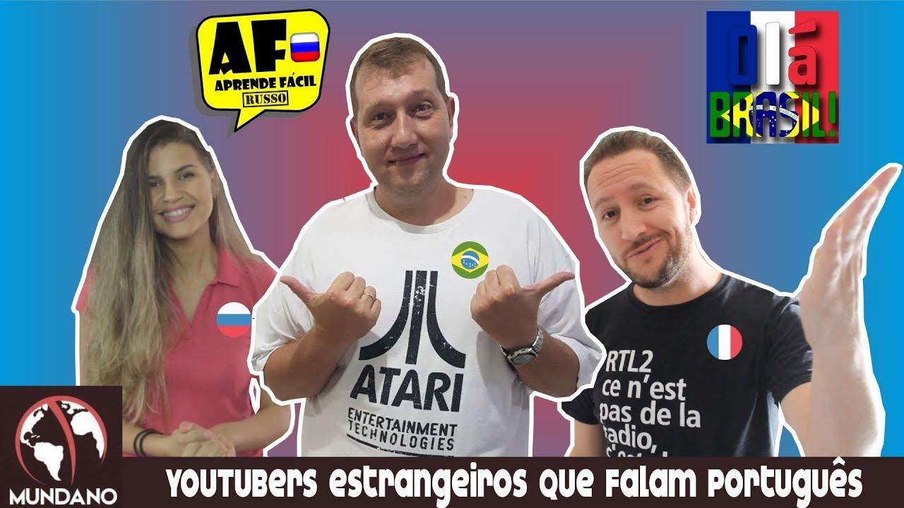 Mundano #32 – Youtubers estrangeiros que falam português