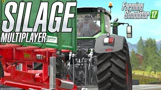 getlinkyoutube.com-Making Corn Silage in Multiplayer in Goldcrest Valley