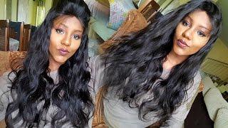 getlinkyoutube.com-CABELO PERFEITO EM MINUTOS!! | Lace Front Wig | Chinahairmall.com