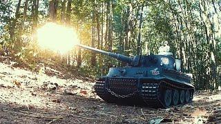 getlinkyoutube.com-Torro TIGER I  - RC Panzer Testfahrt / Profi Metallversion von Torro-Shop.de