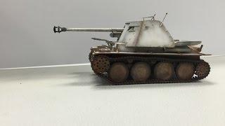 getlinkyoutube.com-Painting German WWII White Wash Camouflage