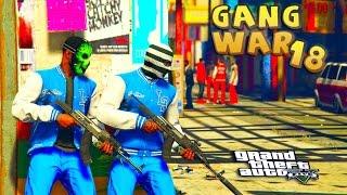 getlinkyoutube.com-GTA 5 THUG LIFE #18 - GANG WAR BLOOD VS CRIPS   S2