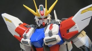 getlinkyoutube.com-MG Star Build Strike Gundam (1: Parts & MS) Build Fighters Iori Sei's Gundam model review ガンプラ
