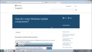 getlinkyoutube.com-Microsoft Windows Update Fix It Tool Repair Windows Update Components