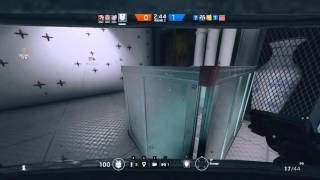 getlinkyoutube.com-Rainbow Six Siege - Getting called a hacker/1v5 clutch win