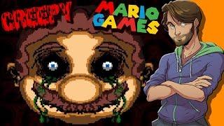 getlinkyoutube.com-Creepy Mario Games - SpaceHamster