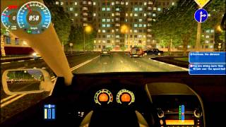 getlinkyoutube.com-شرح القيادة+التعشيق في لعبة city car driving+طقطقة ودوران في المدينة