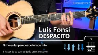 getlinkyoutube.com-Cómo tocar Despacito en guitarra COMPLETO (Luis Fonsi)  | Guitarraviva