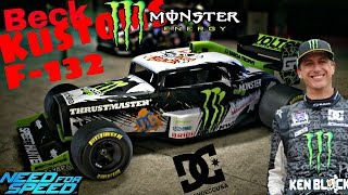 Need for speed 2015- Customization BECK KUSTOMS F132(Monster Ken Block)-HOT RODS update