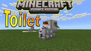 getlinkyoutube.com-How to Make a Toilet in Minecraft PE (Pocket Edition)