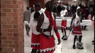 Mading Awiel Traditional Dancing At Gogrial Women Association In The State Of Nebraska.avi