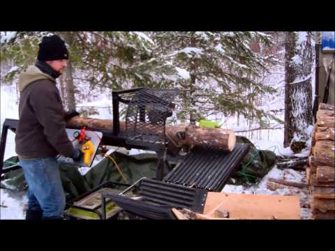 Homemade Firewood Processor