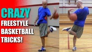 getlinkyoutube.com-Freestyle Basketball (CRAZY)! How To: Hookback - Best Basketball Tricks | Snake