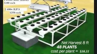 getlinkyoutube.com-Hyper Ponics-Total Hydroponic Machines/ 3 to 5lb