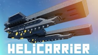 Space Engineers: Interplanetary Heli-carrier | The Essex by Venom
