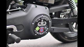 getlinkyoutube.com-Big Radius: Harley-Davidson FXDB Street Bob Sounds at Speed (HQ)