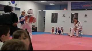 Nicolas Losa Taekwondo en niños