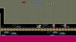 getlinkyoutube.com-Super Mario Bros. X (SMBX) playthrough - Super Kaizo Mario World 2 X [Level 6]