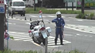 getlinkyoutube.com-茨城県警察 交通機動隊 潮来分駐隊 隊員警戒中