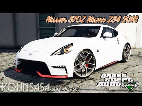 GTA 5 Nissan 370Z Nismo Z34 2016